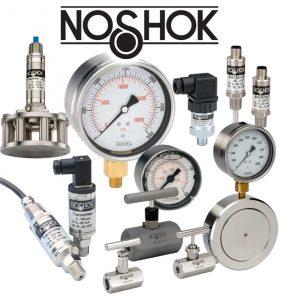 noshock, gauges, measuring intruments