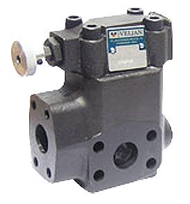 Veljan pressure control valve