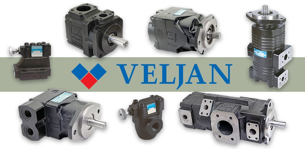 Veljan pumps, motors, pressure controls