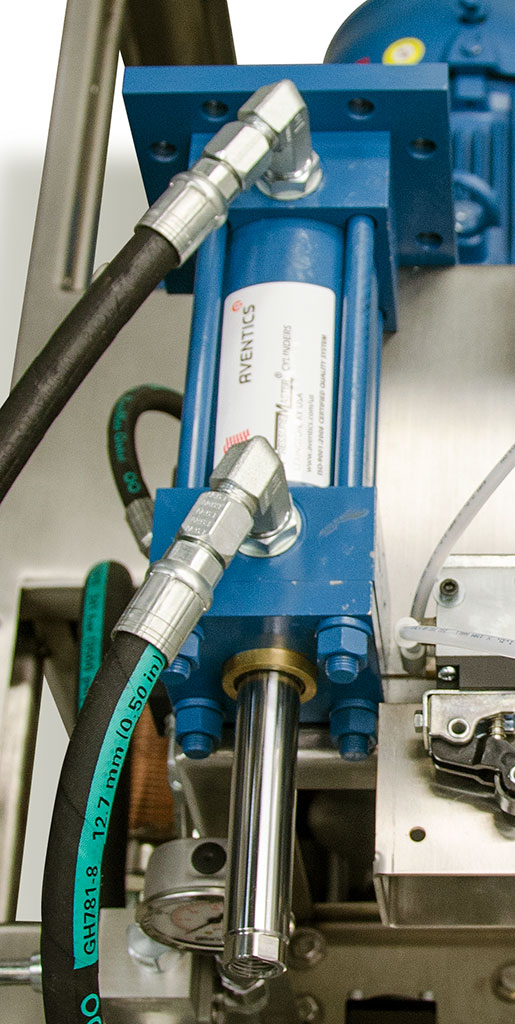 Using Pneumatics To Control Hydraulics