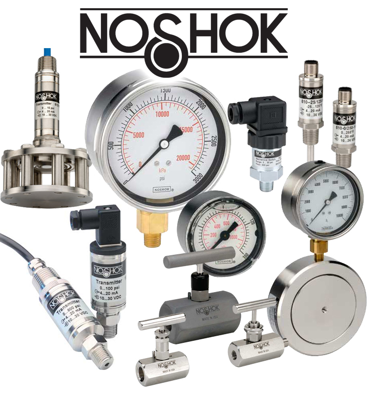 Noshok Products Hydraulic Components Advanced Fluid
